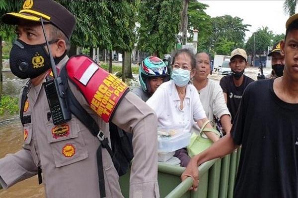Banjir di Jakarta, Bekasi, Tangerang, dan Depok