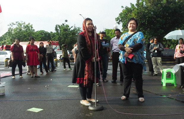 12 Pendeta Pimpin Ibadah di Seberang Istana, Anita Wahid Sampaikan Ucapan Natal