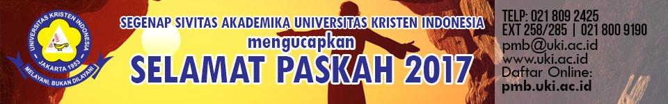 Banner UKI Paskah 2017