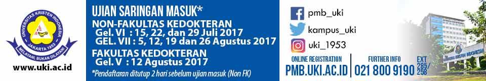Banner PMB UKI 2017